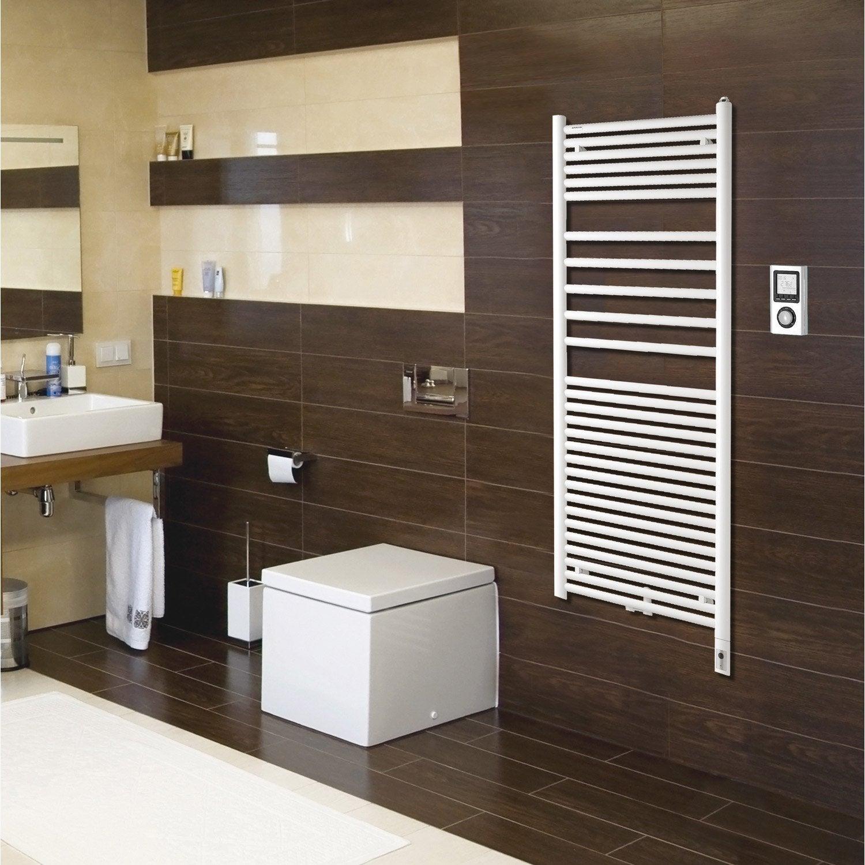 s che serviettes eau chaude mixte acier acova angora mixte blanc 946 w leroy merlin. Black Bedroom Furniture Sets. Home Design Ideas