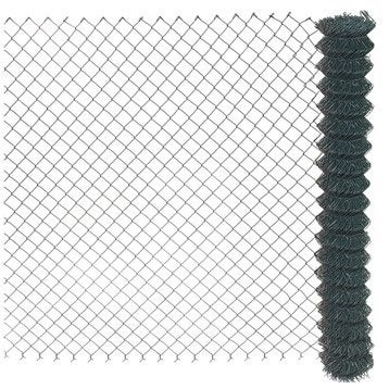 Grillage simple torsion vert H.1.5 x L.20 m, maille de H.50 x l.50 mm