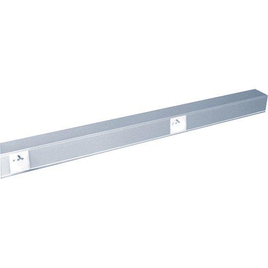 kit d 39 installation aluminium pour moulure h 5 4 x p 5 4 cm leroy merlin. Black Bedroom Furniture Sets. Home Design Ideas