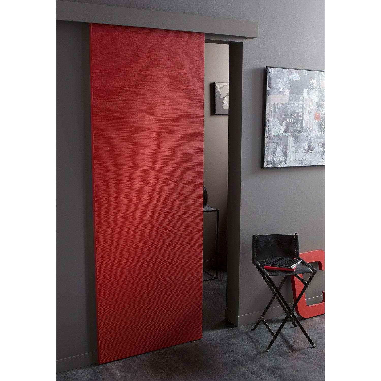 Porte coulissante isoplane ambiance x cm for Porte interieure vitree 83 cm