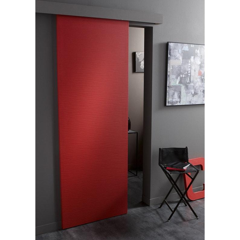 porte coulissante isoplane ambiance x cm. Black Bedroom Furniture Sets. Home Design Ideas