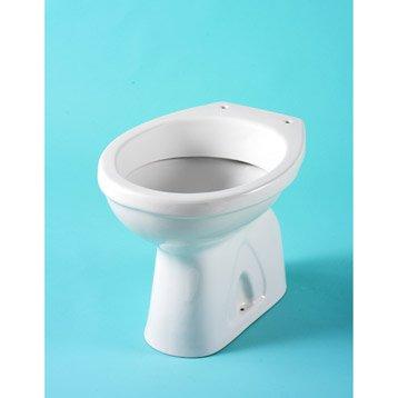 r servoir wc et cuvette seule toilette wc abattant et lave mains leroy merlin. Black Bedroom Furniture Sets. Home Design Ideas