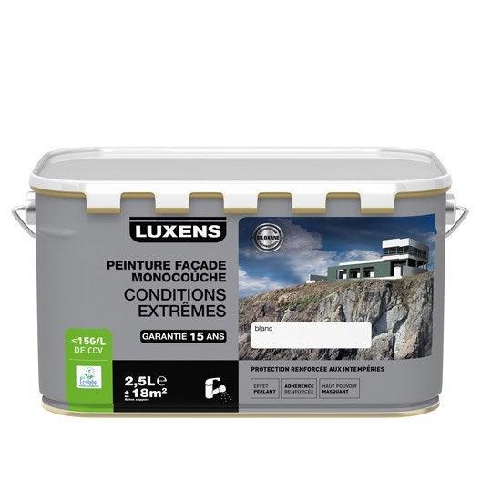 Peinture fa ade conditions extr mes luxens ocre proven al 2 5 l leroy merlin - Peinture ocre provencal ...