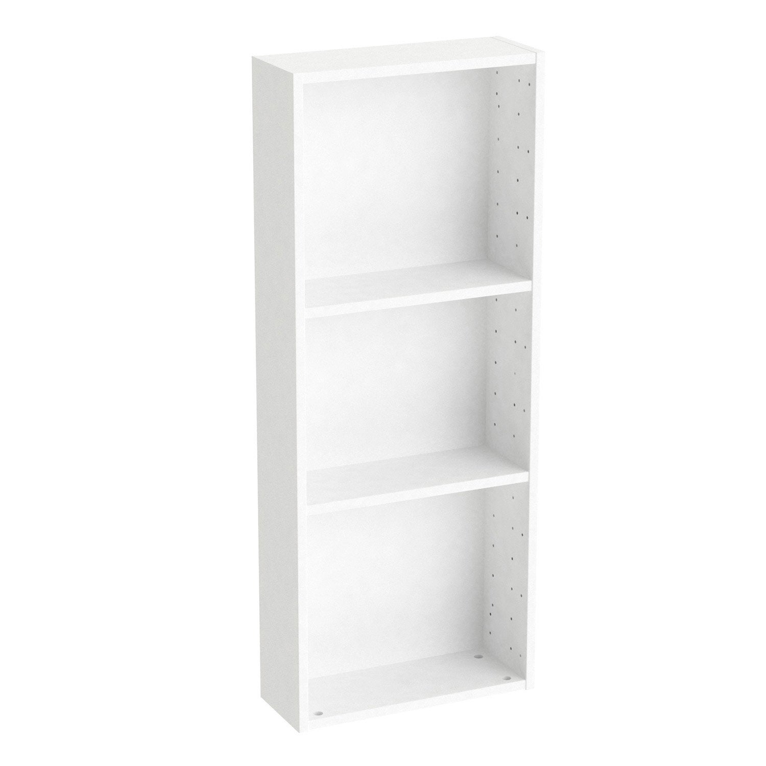 Caisson SPACEO Home 100 x 40 x 15 cm, blanc | Leroy Merlin