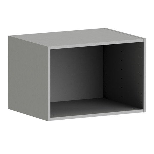 Caisson SPACEO Home 40 x 60 x 45 cm, anthracite | Leroy Merlin