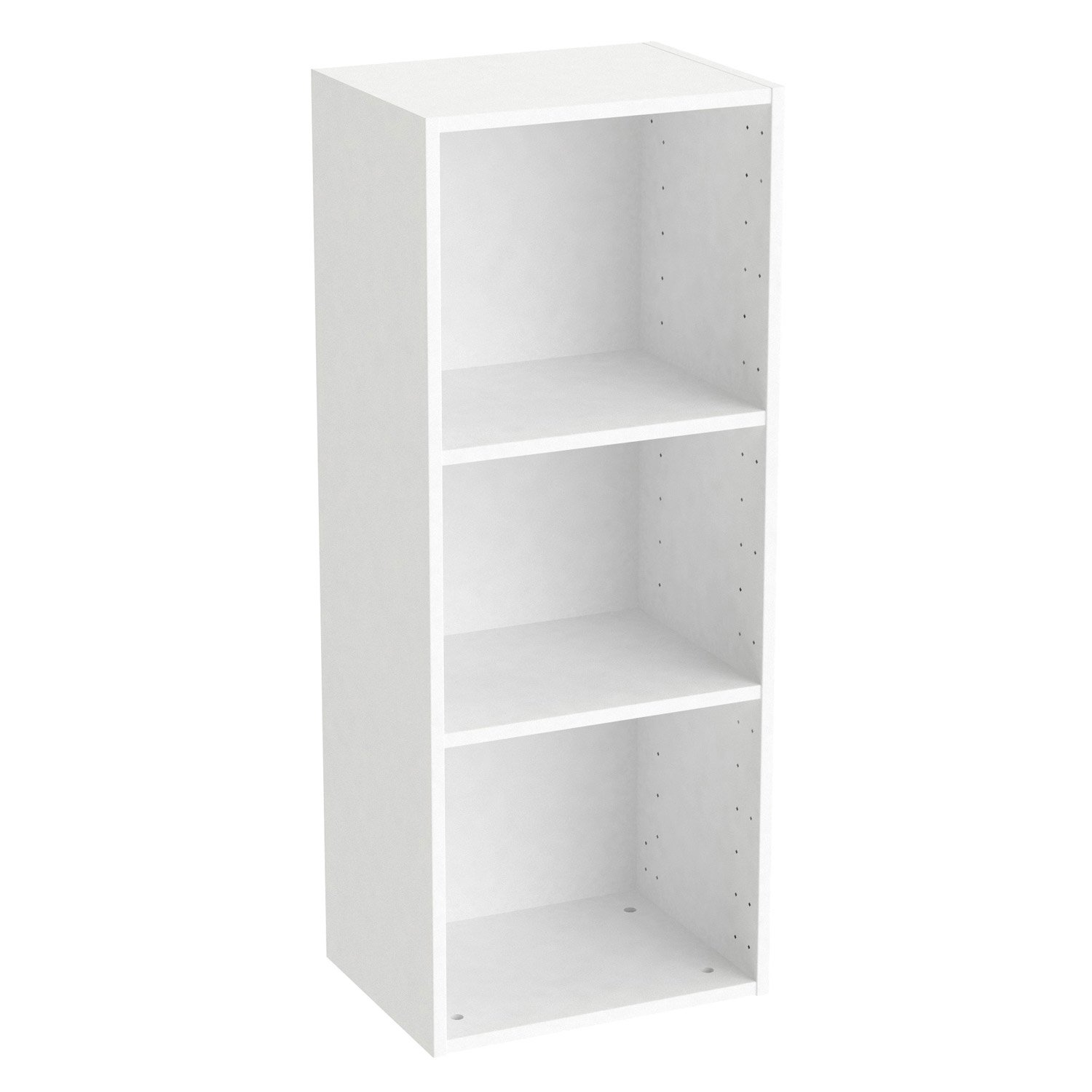 caisson spaceo home 100 x 40 x 30 cm blanc