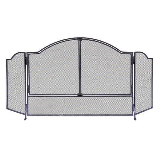 pare feu 3 volets delta lancelot acier leroy merlin. Black Bedroom Furniture Sets. Home Design Ideas