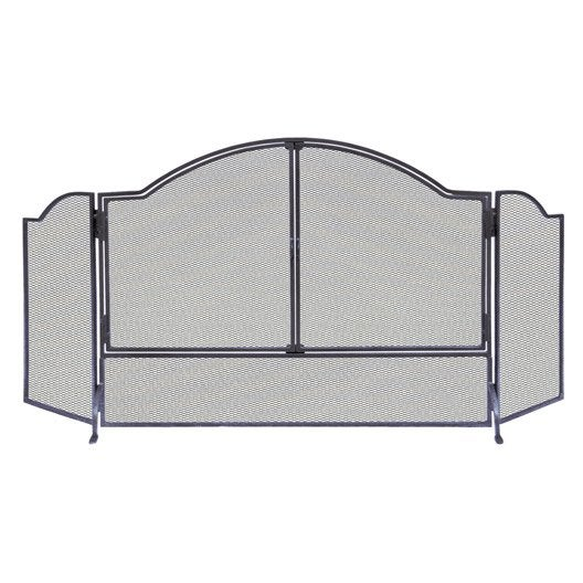 pare feu acier delta lancelot 3 volets x cm. Black Bedroom Furniture Sets. Home Design Ideas