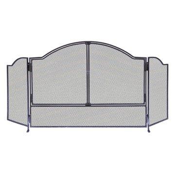 pare feu serviteur chenet et soufflet po le bois. Black Bedroom Furniture Sets. Home Design Ideas
