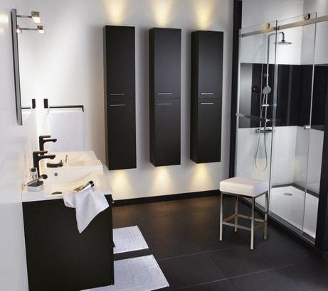 Le noir investit la salle de bains