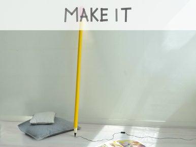 diy d tourner une rampe d 39 escalier en lampe leroy merlin. Black Bedroom Furniture Sets. Home Design Ideas