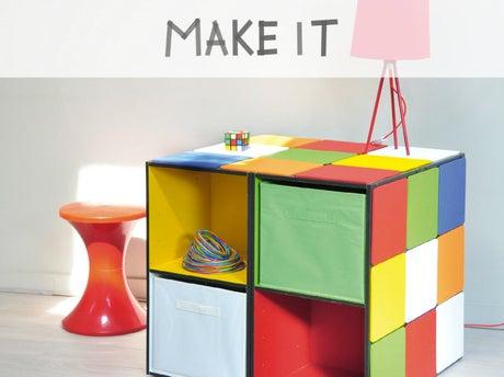 DIY : Créer un rangement original pour les enfants