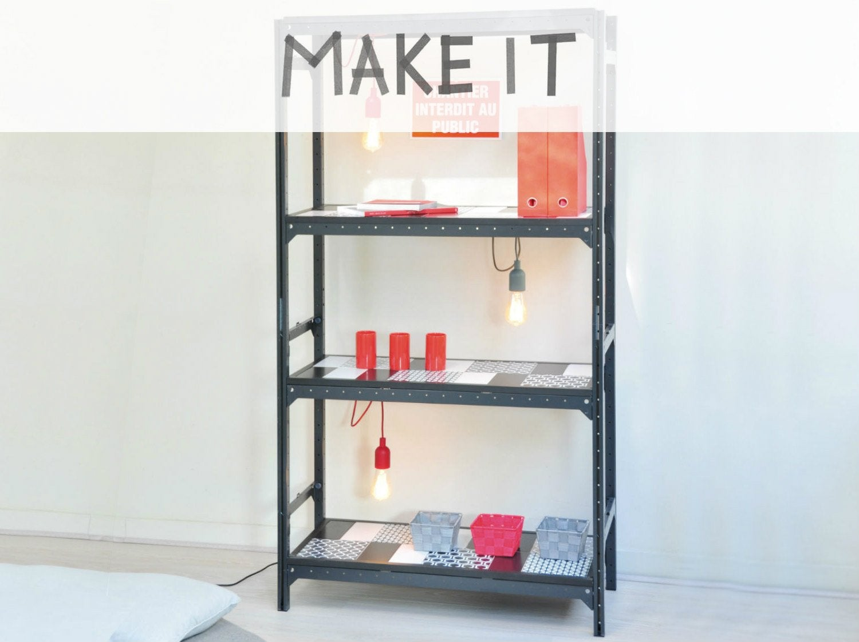 Comment r aliser un porte chaussures en tubes pvc leroy merlin - Realiser une etagere ...