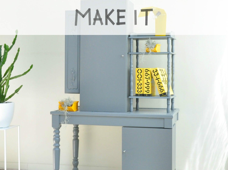 DIY : Relooker des meubles anciens