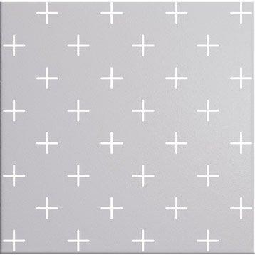 Décor Astuce cross granit n°5, l.20 x L.20 cm
