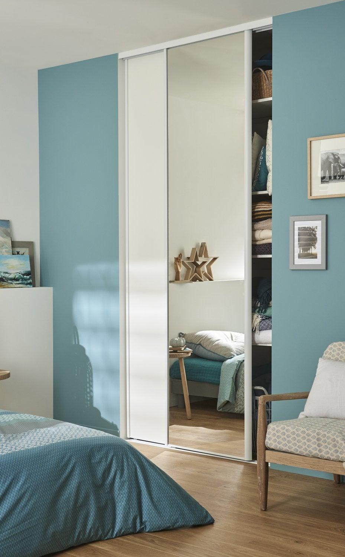 Des portes de placard coulissantes leroy merlin - Placard porte coulissante miroir ...