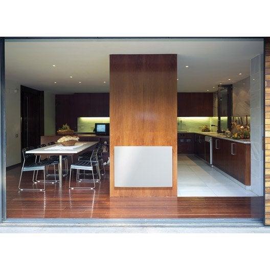radiateur lectrique rayonnement ecosun glass 900 w leroy merlin. Black Bedroom Furniture Sets. Home Design Ideas