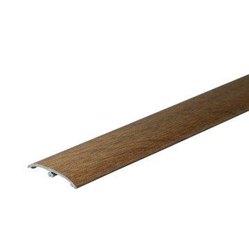 barre de seuil 3en1 pour sol stratifi d cor teck 83 cm. Black Bedroom Furniture Sets. Home Design Ideas