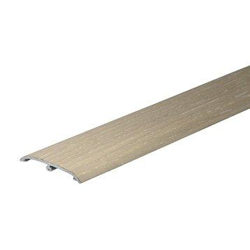 barre de seuil pour parquet et stratifi parquet stratifi et plancher leroy merlin. Black Bedroom Furniture Sets. Home Design Ideas
