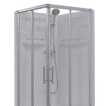 Cabine de douche carré 90x90 cm, Dana