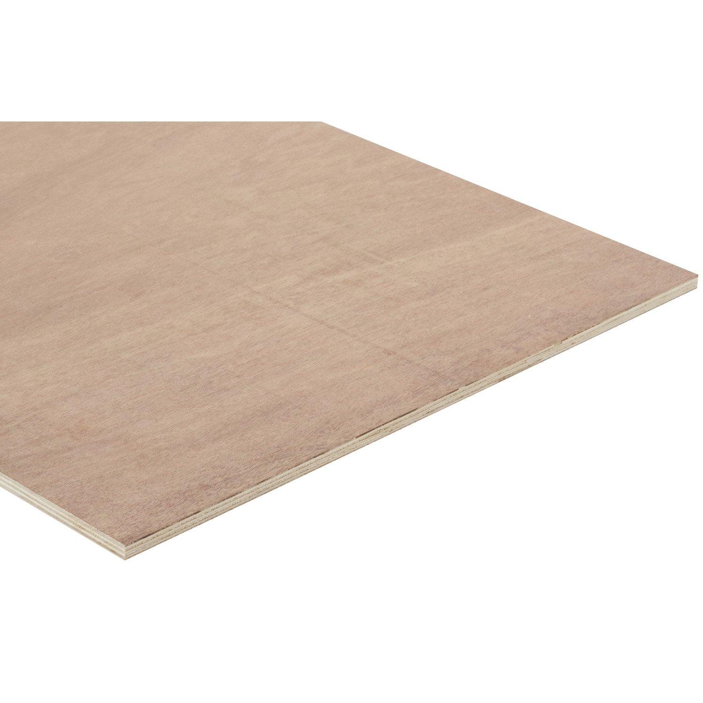 panneau contreplaqu ordinaire mm x x cm leroy merlin. Black Bedroom Furniture Sets. Home Design Ideas