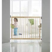 Barrière de sécurité enfant MUNCHKIN bois, L.63.5/106 cm, H.71 cm