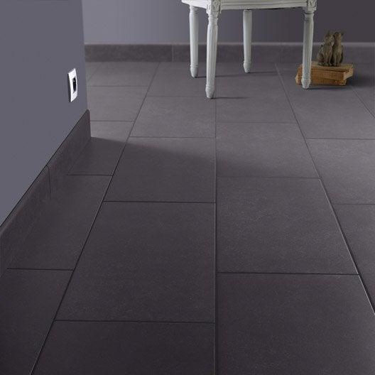 lot de 4 plinthes fussion anthracite x cm leroy merlin. Black Bedroom Furniture Sets. Home Design Ideas