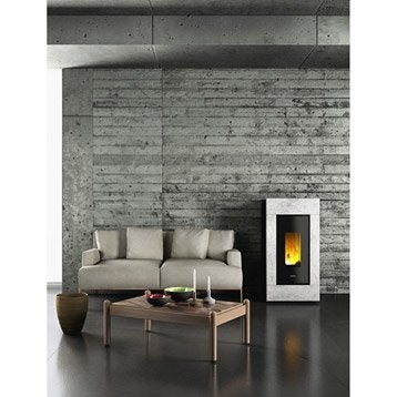 po le granul s po le bois po le granul s et chemin e leroy merlin. Black Bedroom Furniture Sets. Home Design Ideas