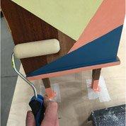 Comment relooker un meuble style géométrique ?