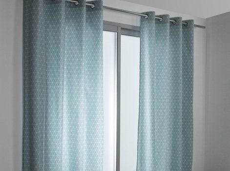 tout savoir sur les rideaux les voilages et les vitrages leroy merlin. Black Bedroom Furniture Sets. Home Design Ideas