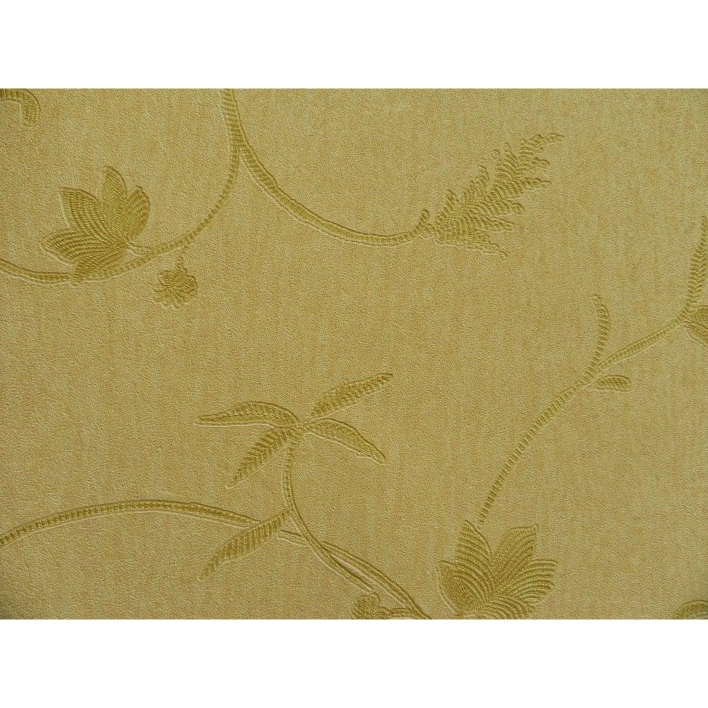 Papier peint vinyle Scala jaune doré