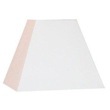 Abat-jour Loft, 32 cm, toiline, blanc-blanc n°0 INSPIRE