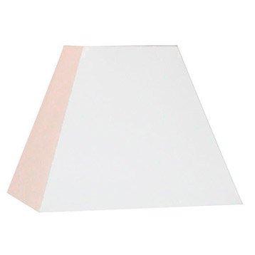 Abat-jour Loft, 42 cm, toiline, blanc-blanc n°0 INSPIRE