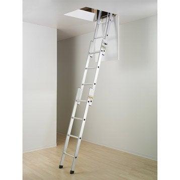 echelle de meunier escalier escamotable chelle pour grenier leroy merlin. Black Bedroom Furniture Sets. Home Design Ideas