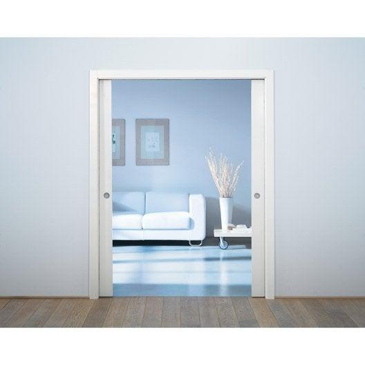 Porte coulissante galandage cm 6