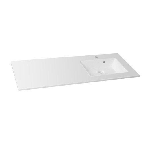 plan vasque simple modern rsine de synthse 106 cm - 100 Cm Plan Vasque
