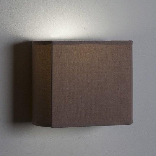 applique e27 pavie tissu brun taupe n 3 1 inspire Résultat Supérieur 13 Incroyable Luminaire Applique Chambre Photos 2017 Lok9