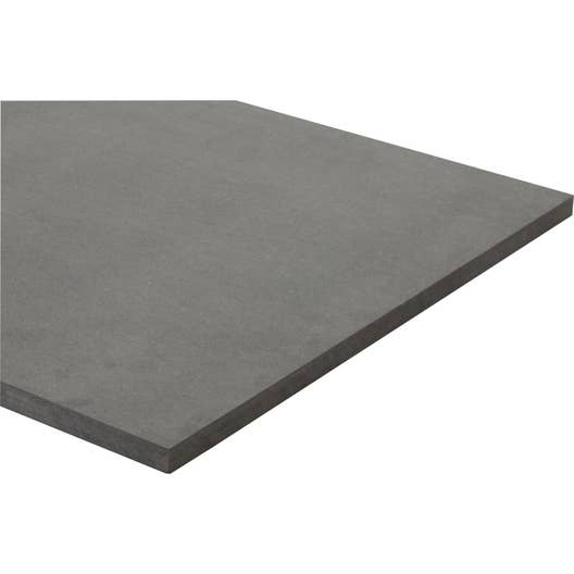 panneau mdf m dium teint e masse gris anthracite valchromat l250 x l122 19mm leroy merlin. Black Bedroom Furniture Sets. Home Design Ideas