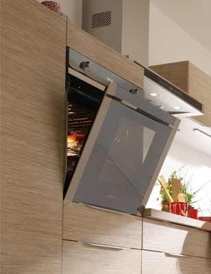 Tout savoir pour concevoir une cuisine pratique et fonctionnelle leroy merlin - Four en hauteur cuisine ...