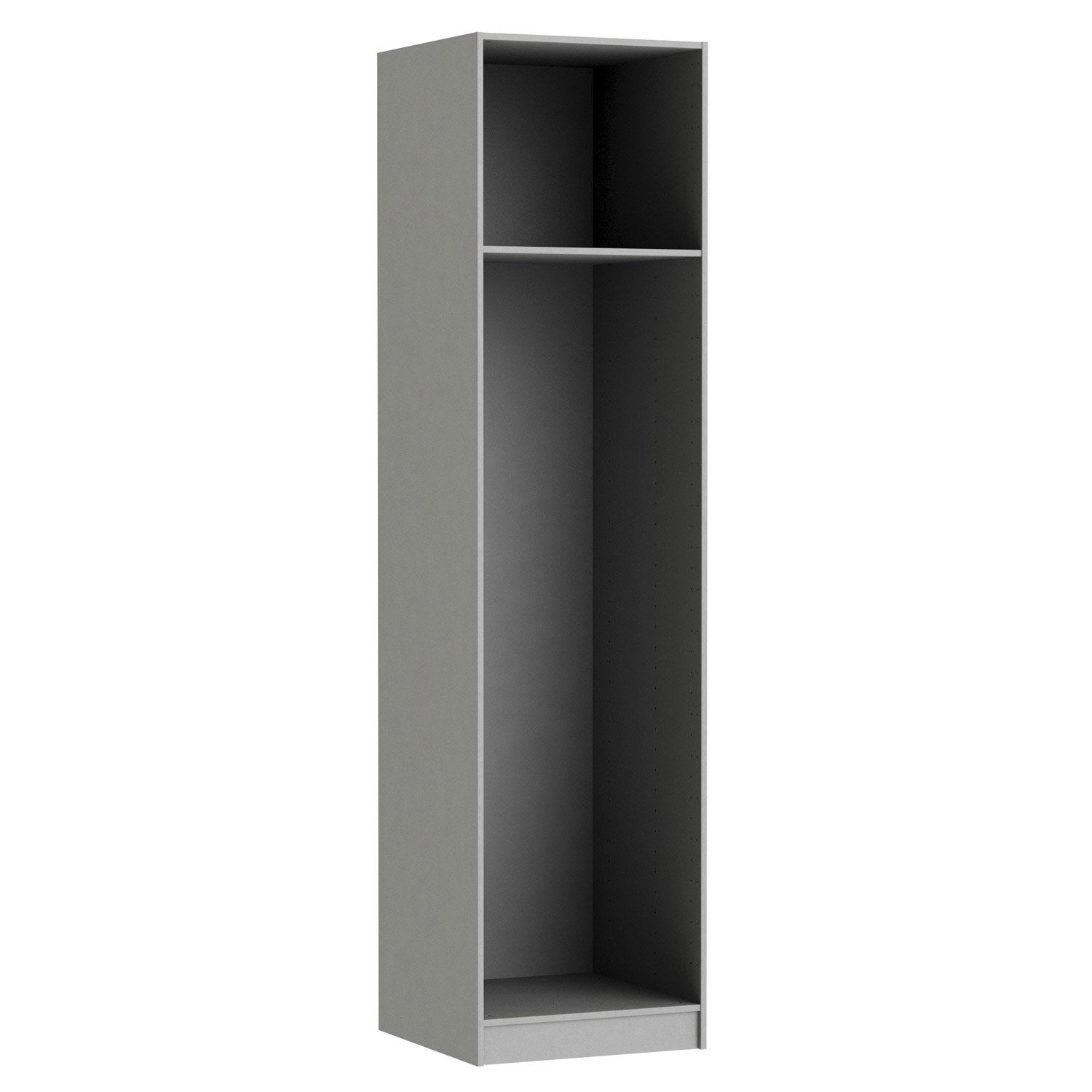 Caisson SPACEO Home 240 x 60 x 60 cm, anthracite | Leroy Merlin