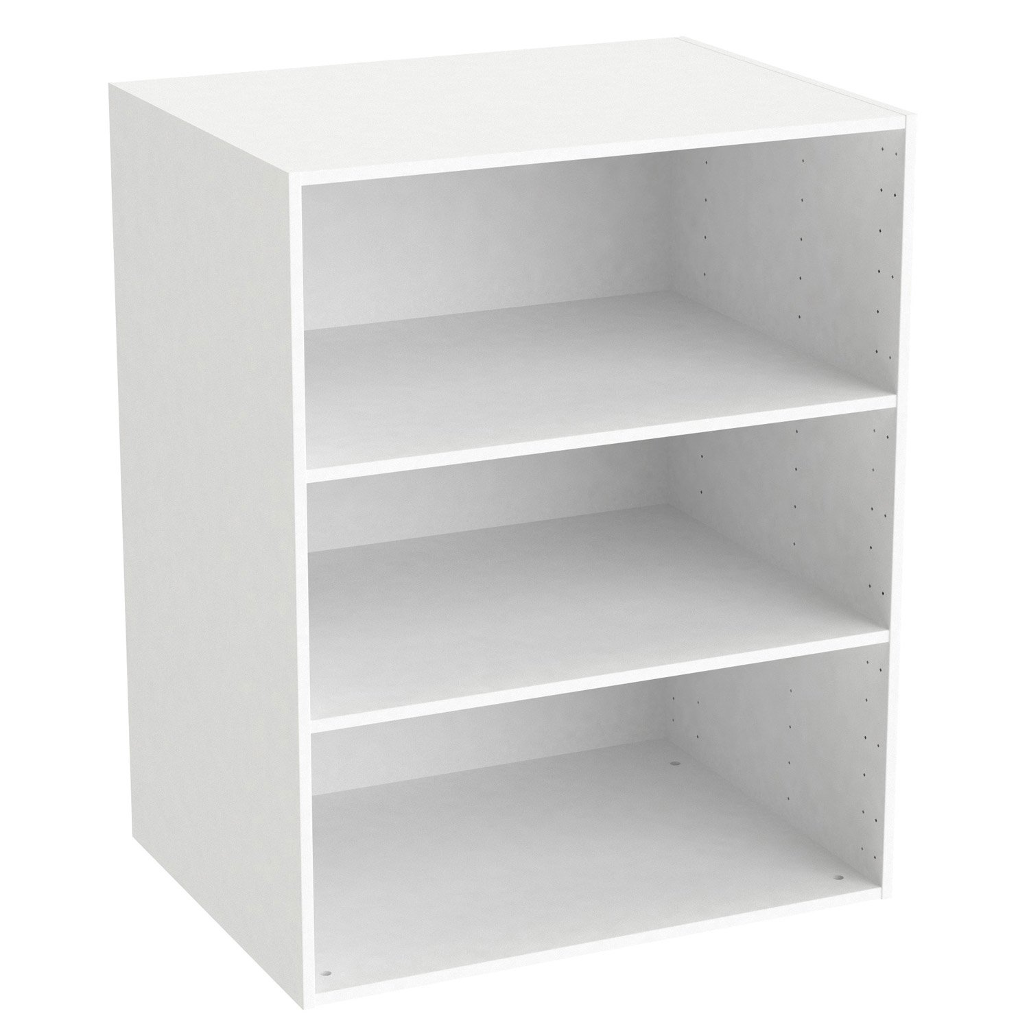 caisson spaceo home 100 x 80 x 60 cm blanc