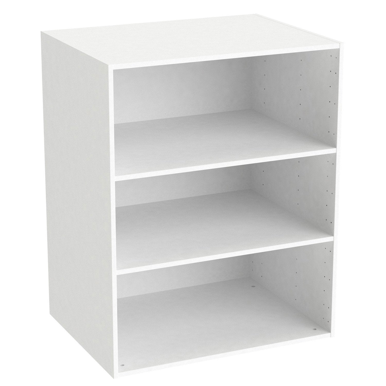 caisson spaceo home, blanc 100 x 80 x 60 cm | leroy merlin