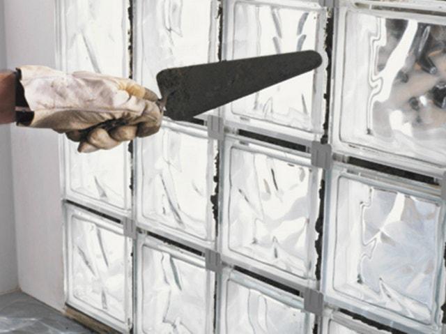 joint poudre brique de verre blanc 5 kg leroy merlin. Black Bedroom Furniture Sets. Home Design Ideas
