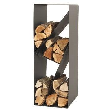 Panier b ches sac b ches range b ches range granul s leroy merlin - Rangement bois chauffage ...