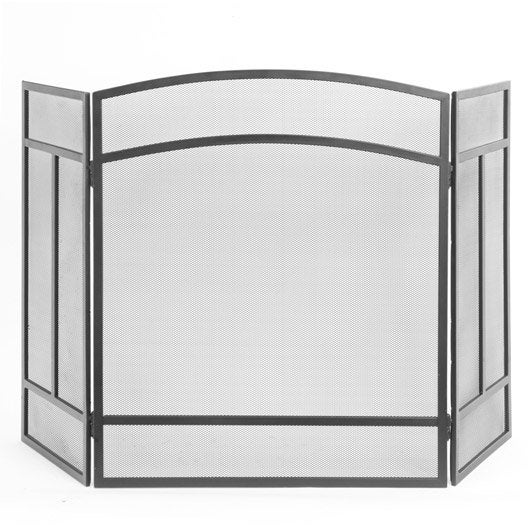 pare feu acier peint lemarquier leihoa 3volets x h. Black Bedroom Furniture Sets. Home Design Ideas