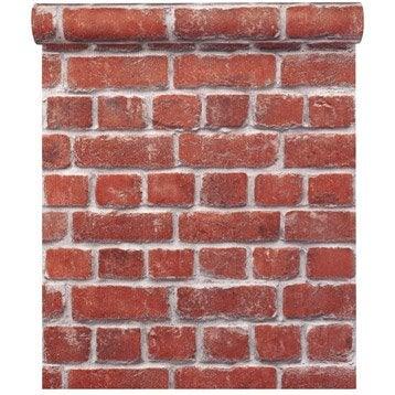 Papier peint Concept bricks, orange
