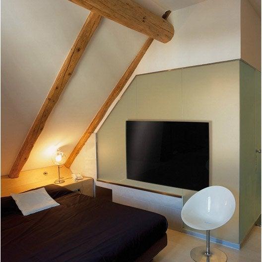 radiateur lectrique rayonnement 1000 w leroy merlin. Black Bedroom Furniture Sets. Home Design Ideas