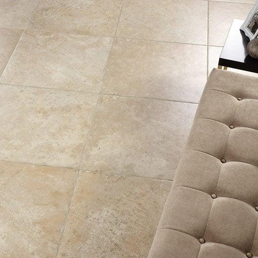 carrelage sol et mur beige effet pierre tesalia x l. Black Bedroom Furniture Sets. Home Design Ideas