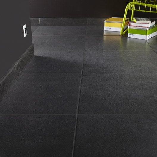free simple beautiful carrelage sol et mur anthracite effet bton fussion l x l cm with leroy. Black Bedroom Furniture Sets. Home Design Ideas