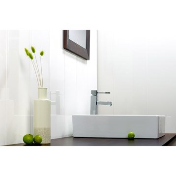 lambris pvc lambris pvc et accessoires au meilleur prix leroy merlin. Black Bedroom Furniture Sets. Home Design Ideas